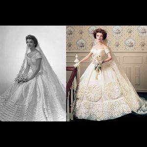Accents - Jacqueline Kennedy Bride Doll